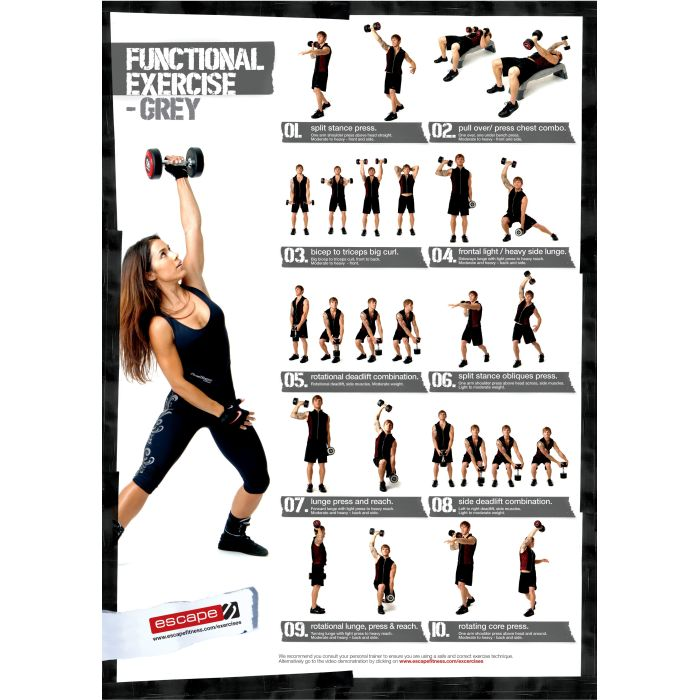 Exercises For Back With Dumbbells Dumbbell Exercise Chart Level1